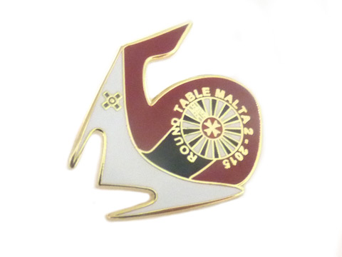 custom interlocking masons enamel badges