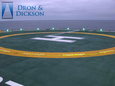 electrical lighting helipad design