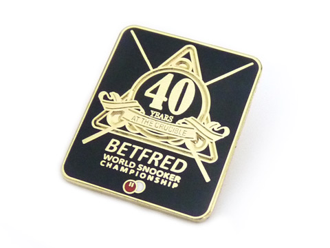custom hard enamel badges with branding