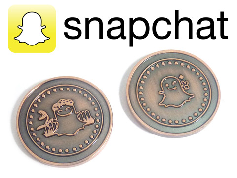 snap chat challenge coins
